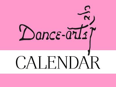 Dance Arts dance studios Calendar
