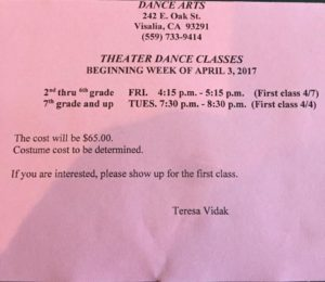 Theater Dance Classes - Youth Dance Classes | Teen Dance Classes